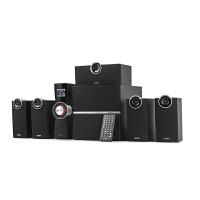 Edifier/漫步者 C6XD家庭影院5.1音箱 木质桌面电脑低音炮音响带功放