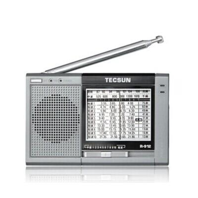 德生r-912收音机 灵敏度12波段立体声