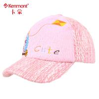 kenmont保暖童帽 男女童帽潮 鸭舌帽 儿童帽子4857