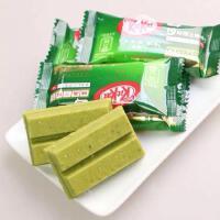 现货日本 雀巢KitKat 宇治抹茶 夹心威化巧克力饼干 两包特惠装