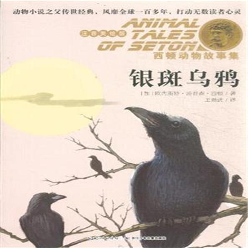 银斑乌鸦-西顿动物故事集-注音美绘版