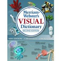 英文原版 韦氏图解词典 Merriam-Webster Visual Dictionary [精装]
