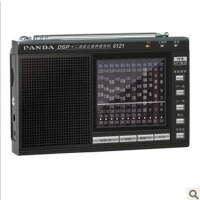 熊猫 6121 收音机 全波段  MP3 插卡 便携收音机 老人收音机 迷你收音机