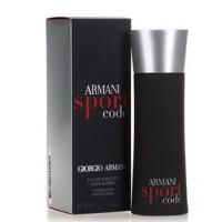 阿玛尼黑色密码男士香水30ml