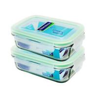 GlassLock/三光云彩 乐扣玻璃保鲜盒密封便当盒 大容量汤盆米缸保鲜碗