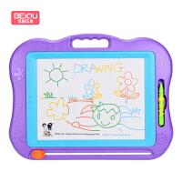 婴儿玩具44CM大号彩色磁性画板 婴幼儿好奇玩具婴儿早教儿童写字板 宝宝画架套装 婴儿早教益智玩具 益智儿童玩具节日生日礼物