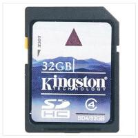 金士顿(Kingston)32G SD SDHC 存储卡 class4