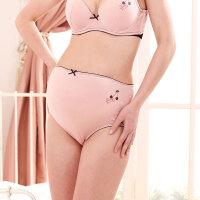十月妈咪孕妇装莫代尔孕妇内裤 安全舒适印花棉弹孕妇内裤