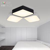 东联LED吸顶灯创意卧室灯现代简约客厅灯书房走廊灯具x244