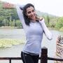 优卡莲 瑜伽服新款健身服 瑜珈服外套 长袖上衣 健身服  运动服 VJW005 休闲T恤