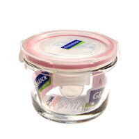 GLASS LOCK 三光云彩韩国进口钢化玻璃饭盒微波炉保鲜盒碗165ml  D1105