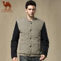 camel骆驼男装棉衣 冬季新款 防风保暖外套商务休闲男上衣