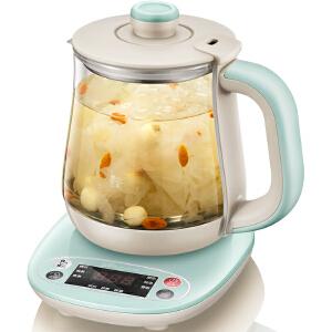 小熊(Bear)养生壶全自动加厚玻璃 电热烧水花茶壶煮茶器 YSH-A08H1