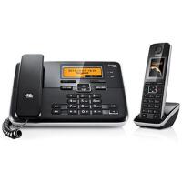 集怡嘉(Gigaset) 西门子C810 2.4GHz数字无绳电话机(钢琴黑)彩屏