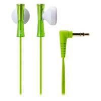 【全国大部分地区包邮哦!!】铁三角(Audio-technica) ATH-J100 LGR 巧细小耳塞式耳机 时尚多彩 浅绿色