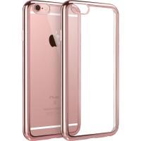 【当当自营】 ESR亿色 iPhone6/6s手机壳 电镀边框软壳 初色晶耀系列 玫瑰金