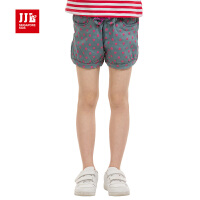 季季乐童装 2015夏装夏季女童装休闲短款儿童时尚牛仔短裤GXK53200