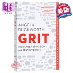坚毅英文原版 Grit: The Power of Passion and Perseverance 勇气:热情与坚毅的力量 英文 自我提升 成功励志