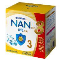 【当当自营】雀巢能恩3段升级配方初生婴儿配方奶粉3联包3x400g/盒
