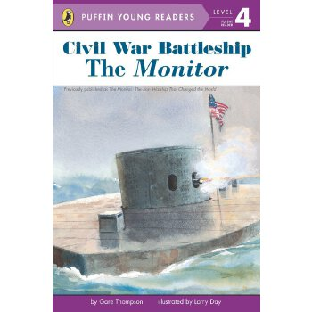 Puffin Young Reader Level 4 Civil War Battleship The Monitor    ISBN:9780448478869