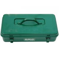 老A 铁皮箱 加厚铁工具箱家用车用车载工具箱 LA113411
