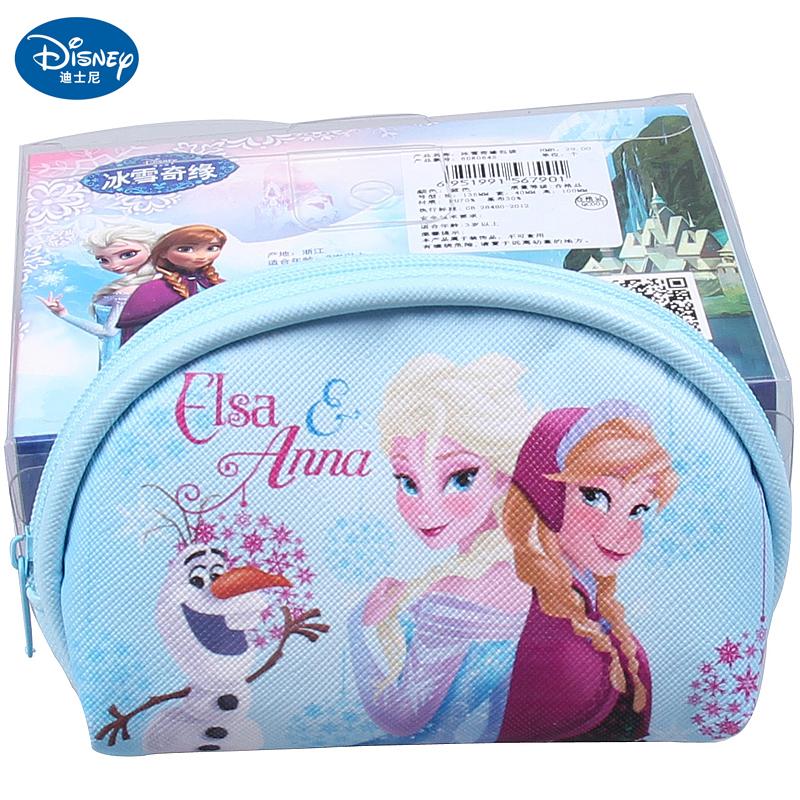 迪士尼冰雪奇缘儿童零钱包可爱公主手拿包卡通饰品6dr065s/64s