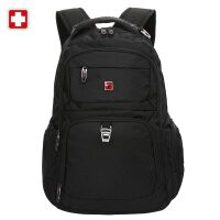 swisswin正品瑞士军刀双肩包女士背包男士旅行包运动户外防水包