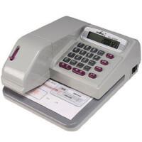 惠朗 HL-08 支票打印机 自动生成日期 蓝色液晶显示屏 送墨盒墨油