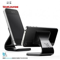 木晖 iPhone5 /4s桌面手机支架 汽车支架 不用胶的超强吸力支架JJE103颜色随机