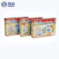 智高新品kk3D彩泥画12色橡皮泥 无毒正品手工创意DIY儿童套装玩具