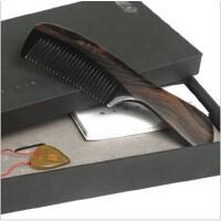 谭木匠  SP礼盒顺发(六) 黑檀牛角梳