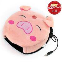春笑牌USB暖手鼠标垫/USB鼠标垫-福猪