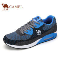 camel骆驼男鞋 夏季新款 透气网布鞋面户外运动越野跑鞋男鞋