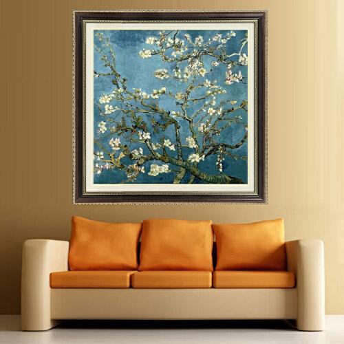 梵高杏花油画世界名画