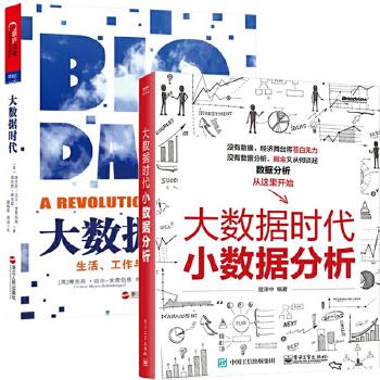 大数据时代(生活工作与思维的大变革)+大数据时代小数据分析(共2册)