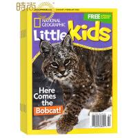 National geographic little kids NG美国国家地理幼儿版 2017年全年杂志订阅新刊预订1年共6期