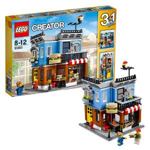 [当当自营]LEGO 乐高 Creator创意百变系列 街角三明治店 积木拼插儿童益智玩具31050