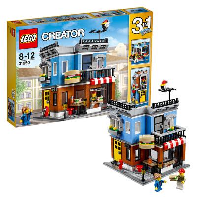 [当当自营]LEGO 乐高 Creator创意百变系列 街角三明治店 积木拼插儿童益智玩具31050【当当自营】适合8-12岁,467pcs小颗粒积木