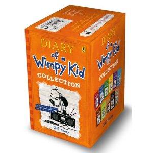 预售 小屁孩日记英文 11本全套套装 英文原版 儿童绘本 漫画Diary of a Wimpy Kid