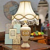 墨菲 欧式简约台灯卧室床头时尚创意陶瓷婚庆居家书房装饰台灯