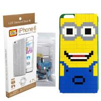 LOZ俐智 iPhone6 小黄人手机壳  塑料拼插 益智组合拼插玩具