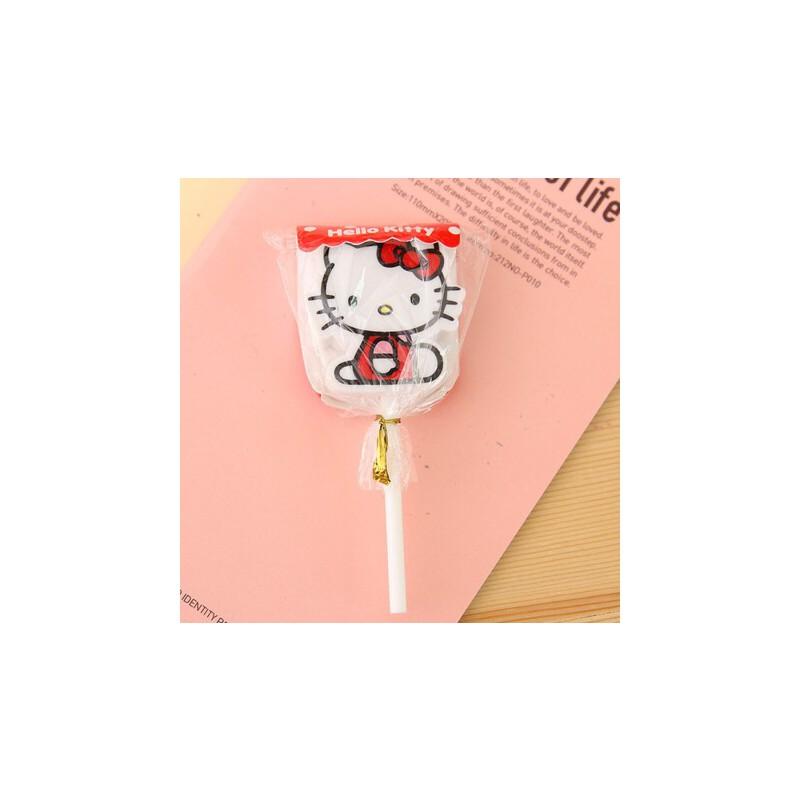 橡皮 可爱棒棒糖橡皮 卡通kitty橡皮擦