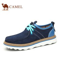 Camel 骆驼男鞋 潮流韩版男鞋牛皮耐磨男鞋 新款鞋子