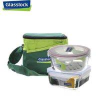 GlassLock/三光云彩钢化玻璃乐扣 保鲜盒|碗|果盘礼盒 微波炉饭盒