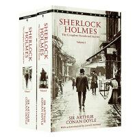 英文原版书福尔摩斯侦探全集英文原版小说 英文版 The Complete Sherlock Holmes Boxed Set福尔摩斯英文 小说
