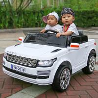 双座婴儿童电动车四轮汽车遥控可坐越野童车摇摆宝宝玩具车可坐人