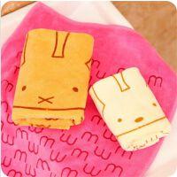 韩国创意居家洗脸面巾 细纤维卡通可爱大兔子毛巾方巾