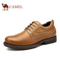 Camel 骆驼男鞋 日常休闲工装鞋牛皮男鞋秋季新款大头鞋