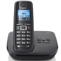 集怡嘉(Gigaset SIEMENS)【西门子】 E710A系统 数字答录无绳电话机 德国制造 答录通话 录音无绳单主机