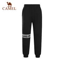 camel骆驼童装 儿童舒适针织长裤男童女童微弹合身运动裤